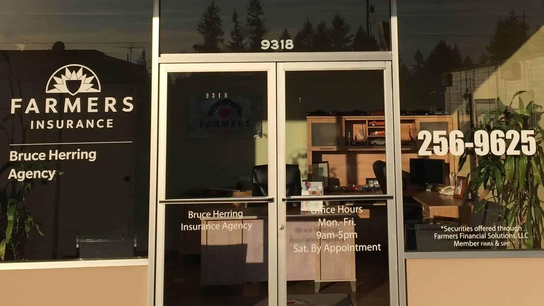 Herring window vinyl