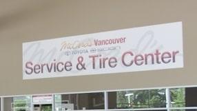 MCCord Service Tire Center banner