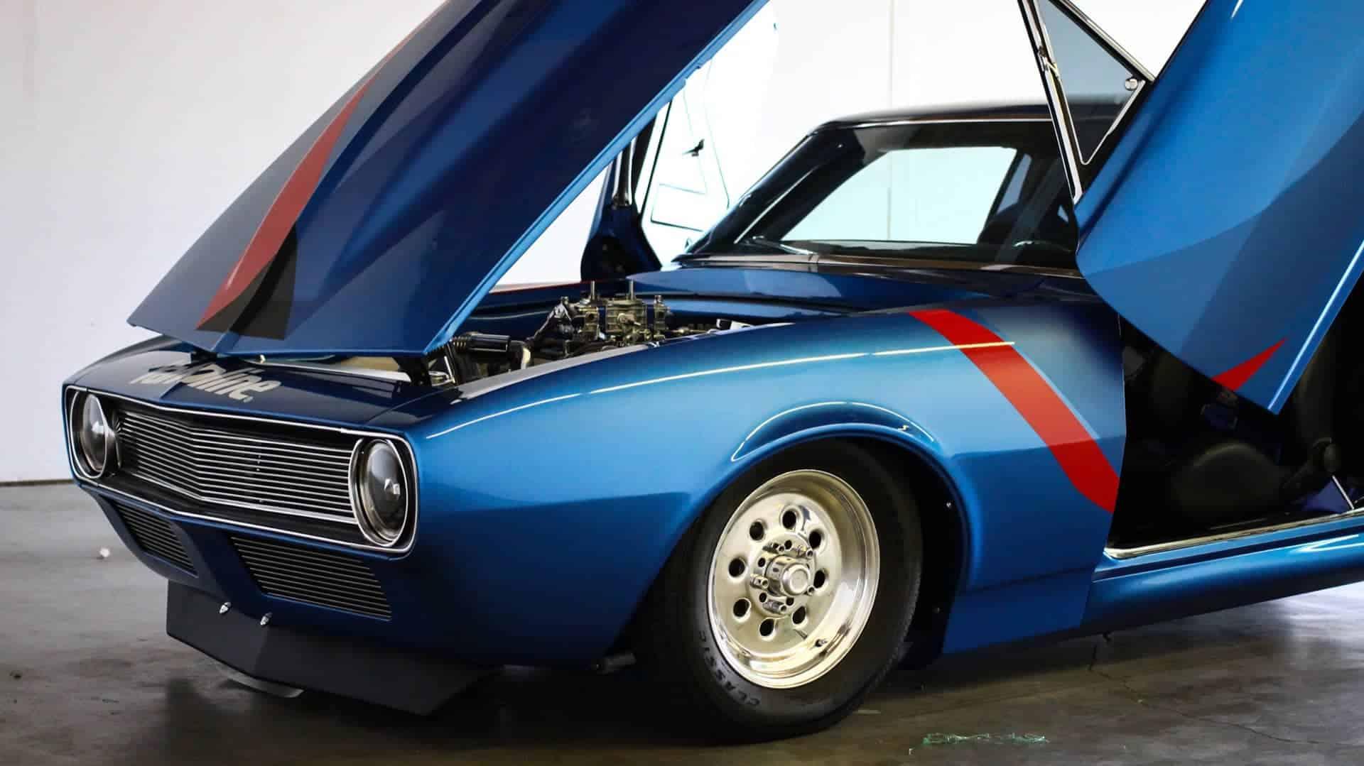 Valvoline Graphics for this classic Camaro for Old Iron Classics