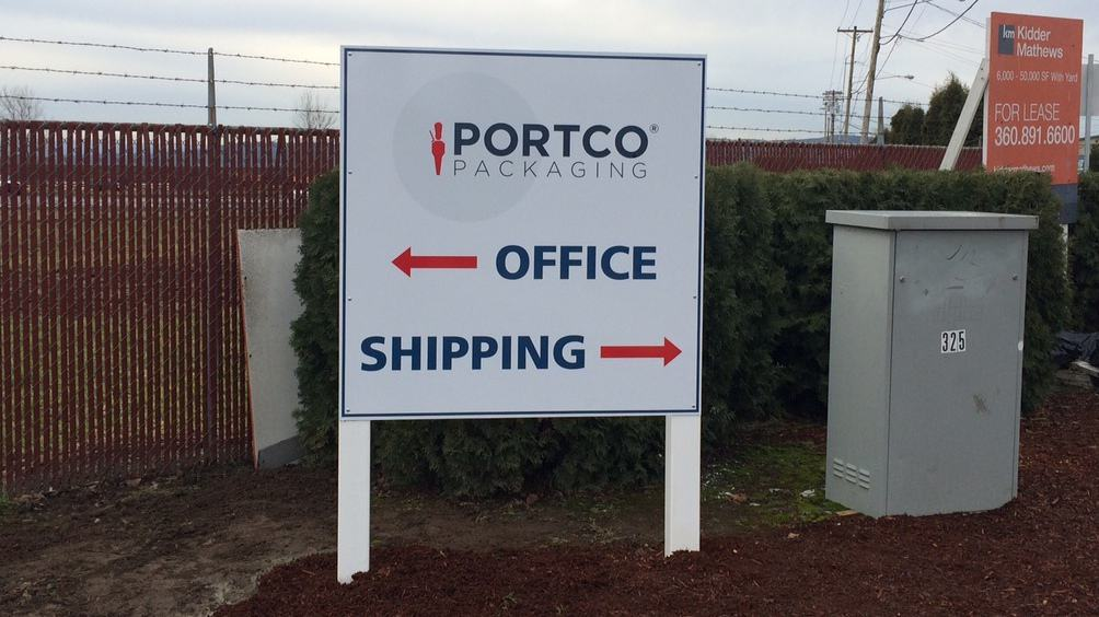 Portco2 post and panel