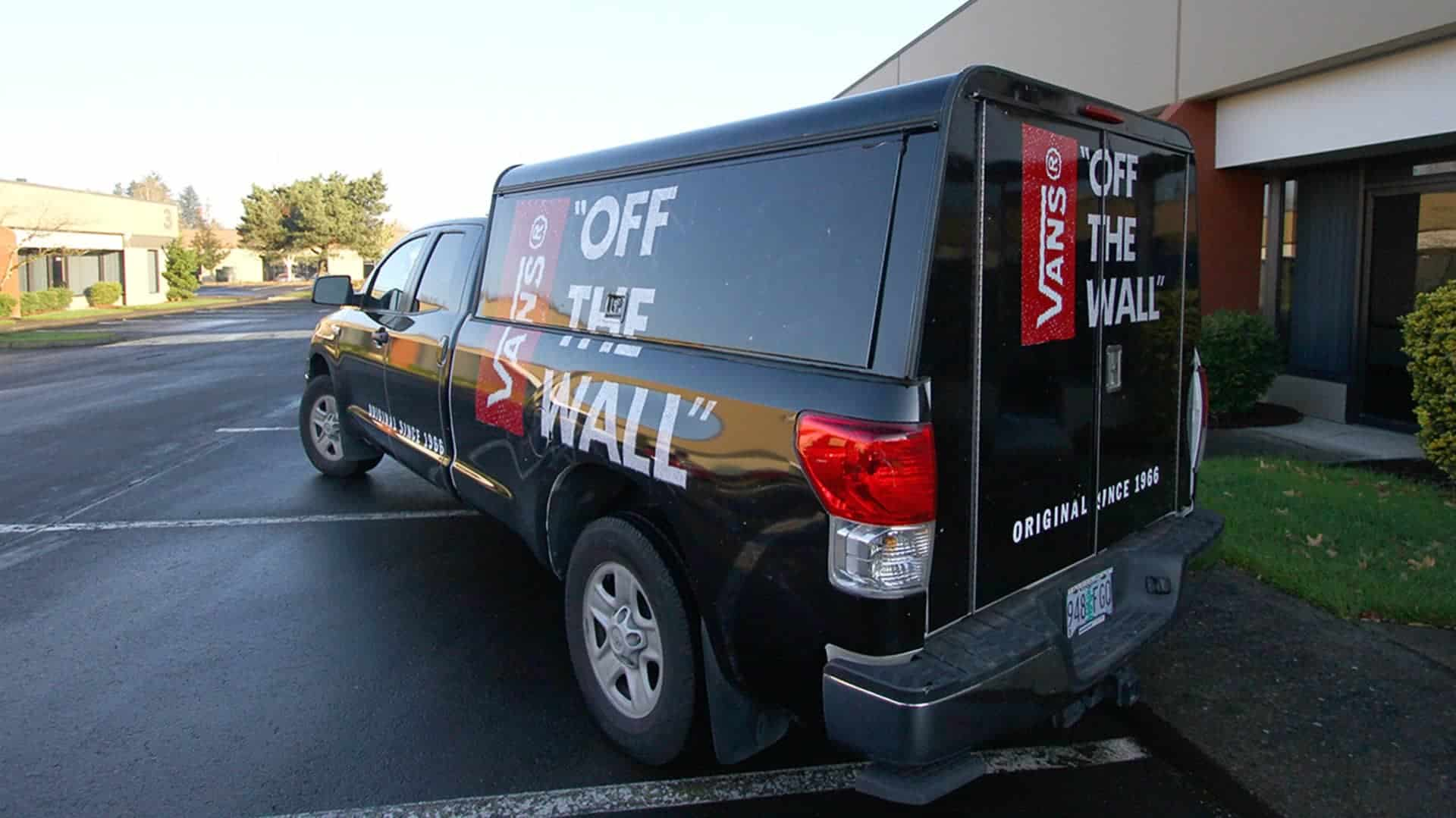 Toyota Tundra Full wrap + Canopy for Vans Off the Wall