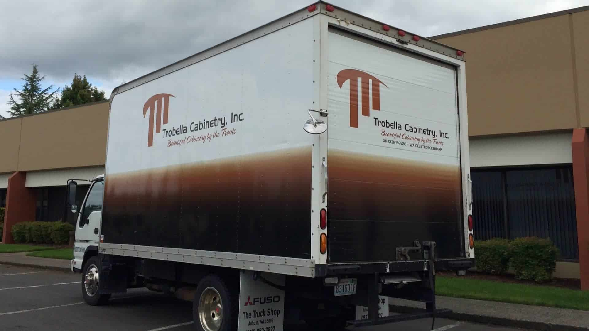 box truck graphics wrap