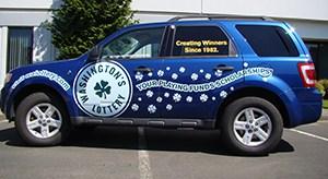 Washington State Lottery Vehicle Wraps