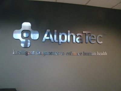 Alpha Tech Dimensional Sign