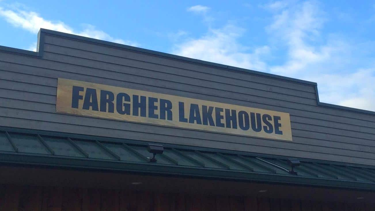 Fargher building sign