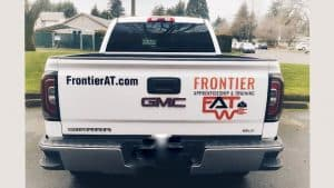 Vinyl Decals for your vehicle NW Sign Solutions