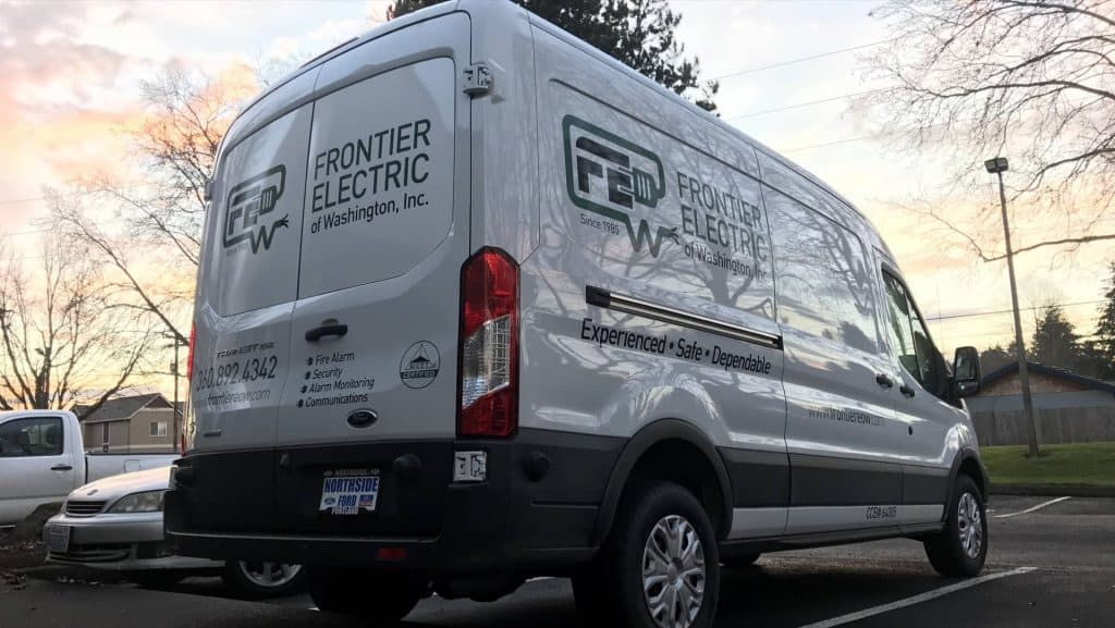 frontier electric vehicle wrap