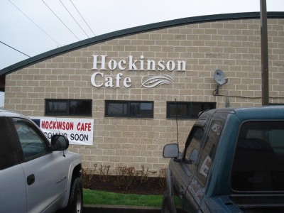 Hockinson Cafe Molded Plastic Sign Dimensional Signs