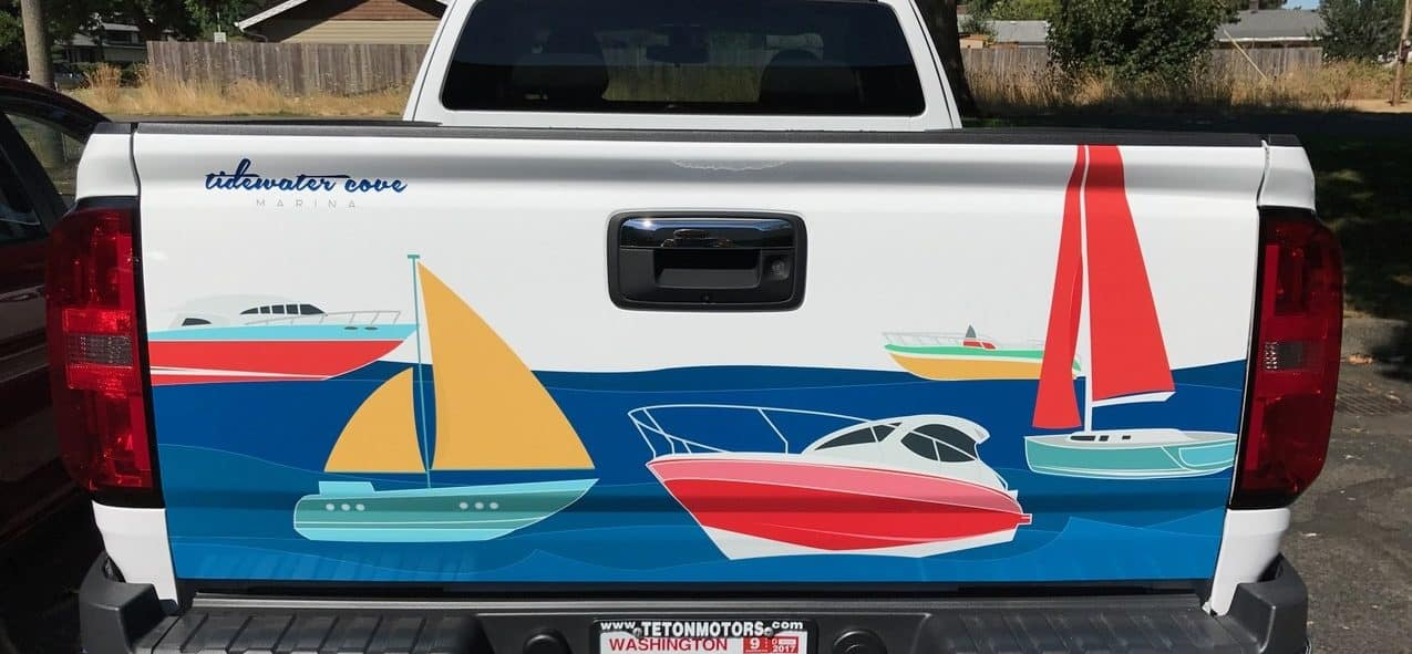 Tidewater – rear graphic