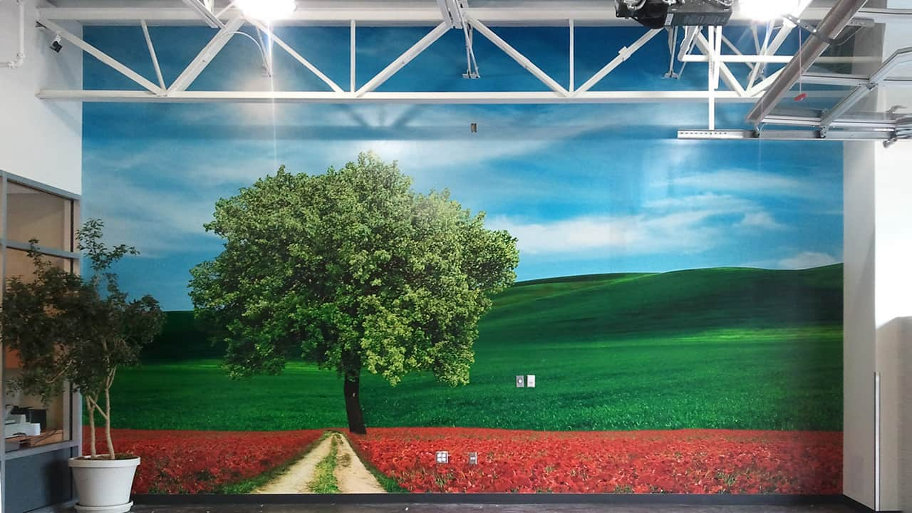 wallcovering murals in vancouver wa nw sign solutions whether you want to brighten an existing room or establish a creative yet professional atmosphere in the entryway of your headquarters our experts have