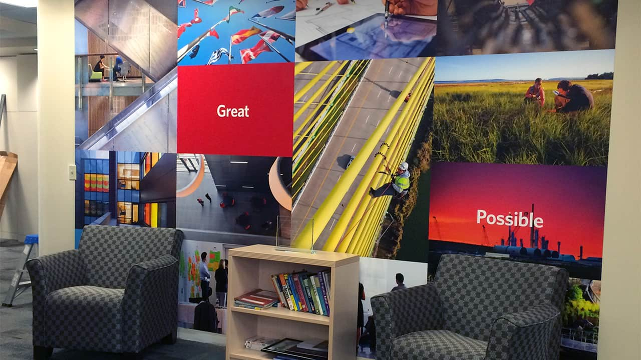Wallcoverings Amp Murals In Vancouver Wa Nw Sign Solutions